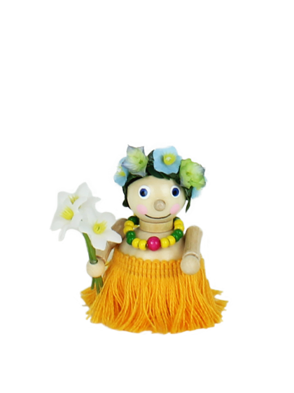 Produktbild S484 – Ornament Hawaiian Girl