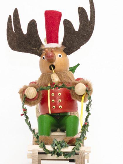 Produktbild S768 – Smoker Rudolph with Sleigh