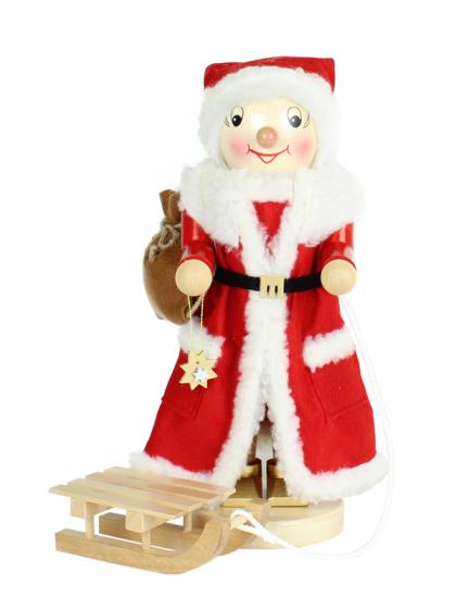 Produktbild SN17-GN-1568 – Mrs. Santa with Sleigh