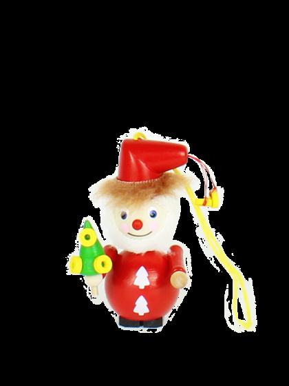Produktbild S547 – Ornament Golden Ring Santa