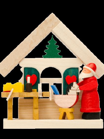 Produktbild GM21ORN002 – House Santa Claus with workshop