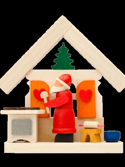 Produktbild GM21ORN004 – House Santa Claus baking