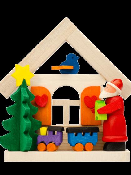 Produktbild GM21ORN005 – House Santa Claus with train