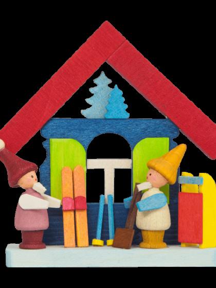 Produktbild GM21ORN009 – House Elves with skis