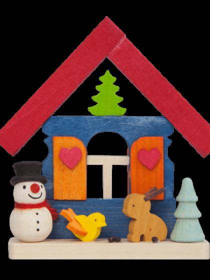 Produktbild GM21ORN012 – House Snowman with animals