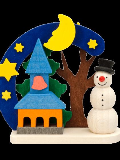 Produktbild GM21ORN017 – Arch Snowman with church