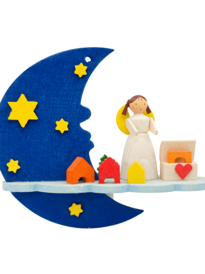 Produktbild GM21ORN031 – Moon and cloud Angel with toy box