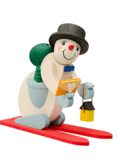 Produktbild GM21ORN035 – Snowman with thread