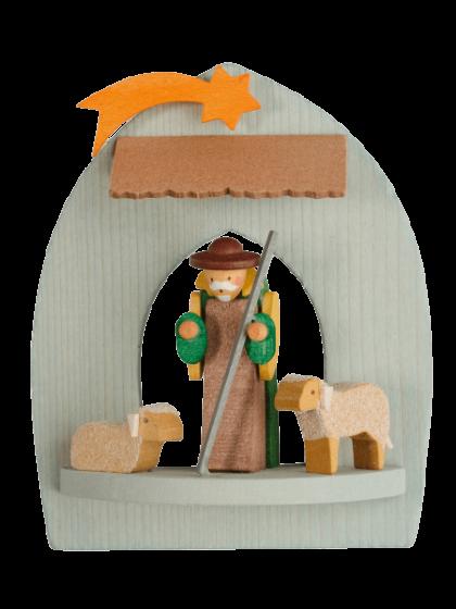 Produktbild GM21ORN037 – Manger with shepherd