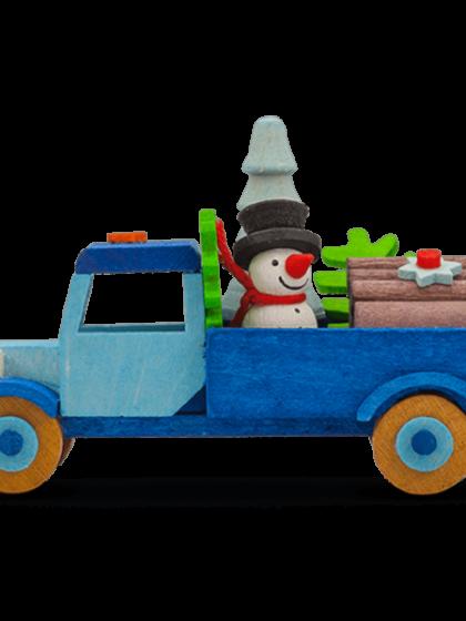 Produktbild GM21ORN042 – Truck Snowman with tree