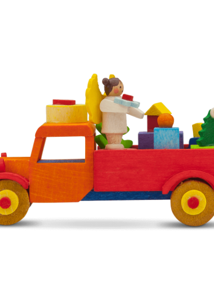 Produktbild GM21ORN043 – Truck Angel with gifts