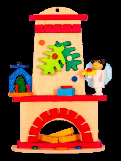 Produktbild GM21ORN046 – Fireplace Pyramid and angel
