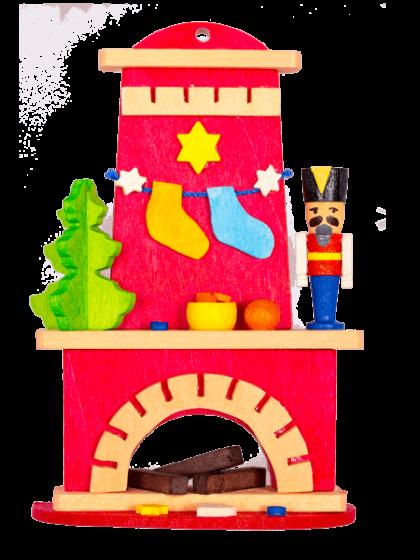 Produktbild GM21ORN048 – Fireplace Nutcracker