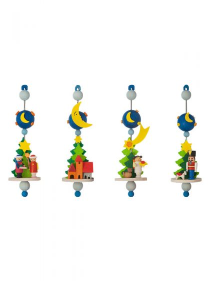 Produktbild GM21ORN054 – 4-Set Spindle Ornaments