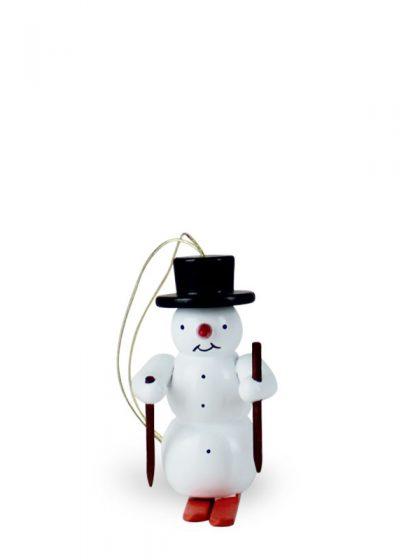 Produktbild G21ORN002 – Ornament Snowman with ski