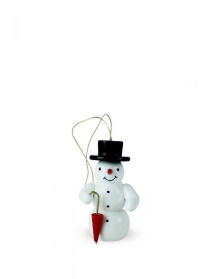 Produktbild G21ORN004 – Ornament Snowman with umbrella
