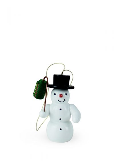 Produktbild G21ORN006 – Ornament Snowman with lantern