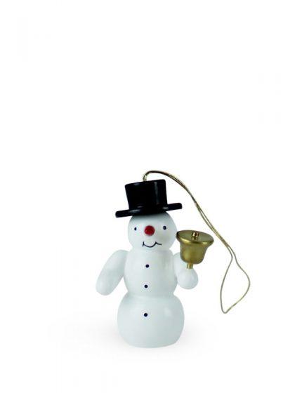 Produktbild G21ORN007 – Ornament Snowman with bell