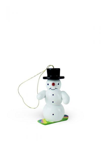 Produktbild G21ORN008 – Ornament Snowman with snowboard