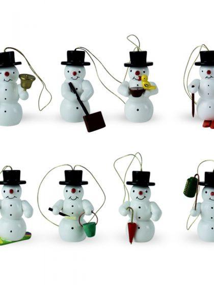 Produktbild G21ORN009 – Ornaments Snowman Set of 8